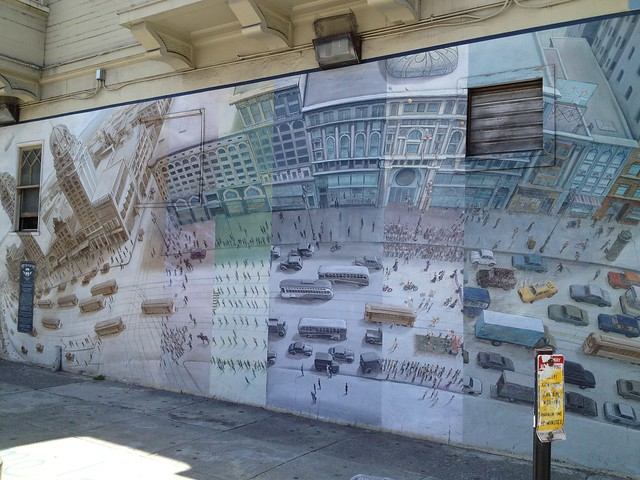 Mural of Market Street, Church Street