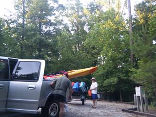 Broad River Paddling May 26, 2012 7-31 PM