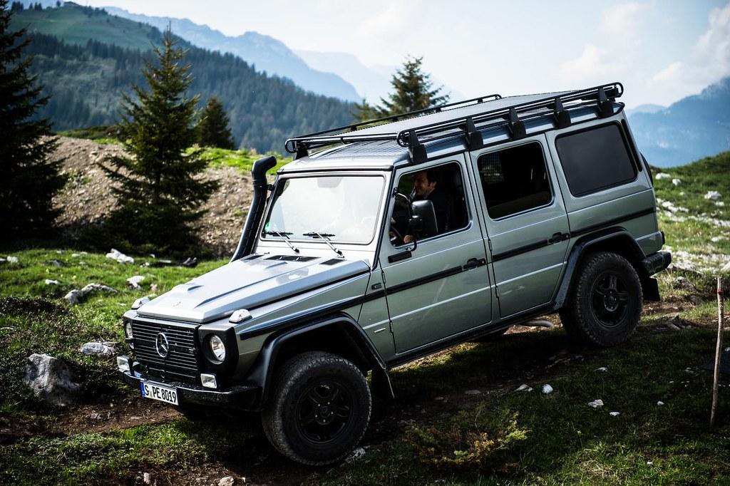 Mercedes Benz G-Class Professional exterior