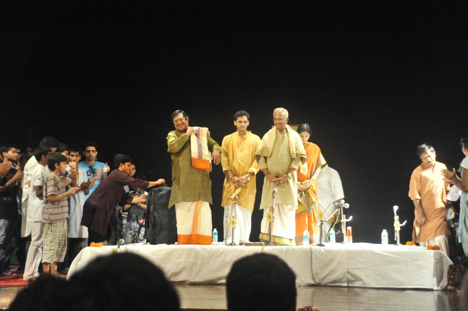 T V Sankaranarayanan, Carnatic Vocal