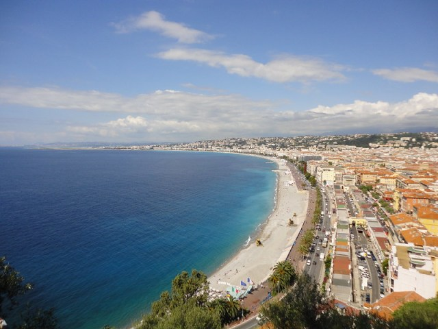 Nice, Cote d'Azur (from Castle Hill)