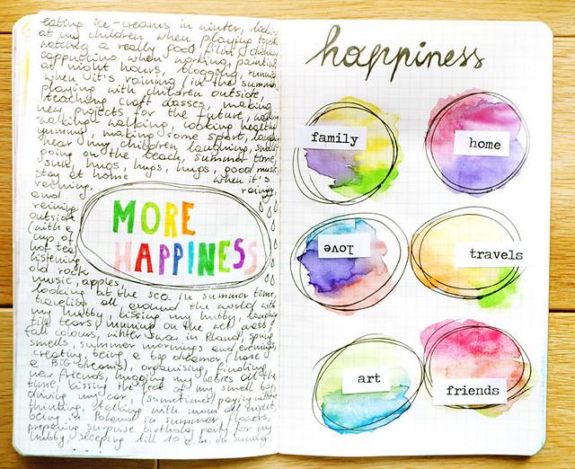 30 Day Art Journal Challenge - Day 7