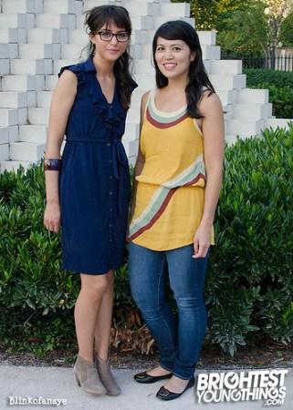 Fabiana and Kim