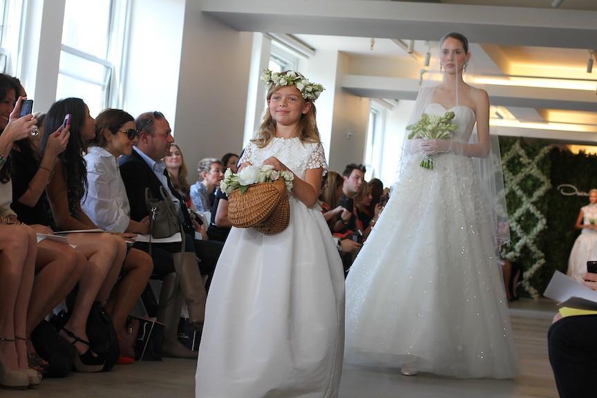 Oscar de la Renta Bridal 2013 77
