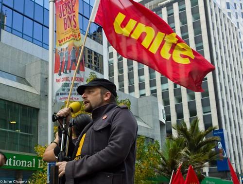 Joe & Unite flag by uniteunion