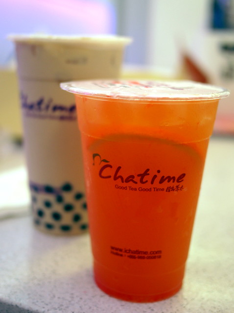Chatime Grapefruit Green Tea