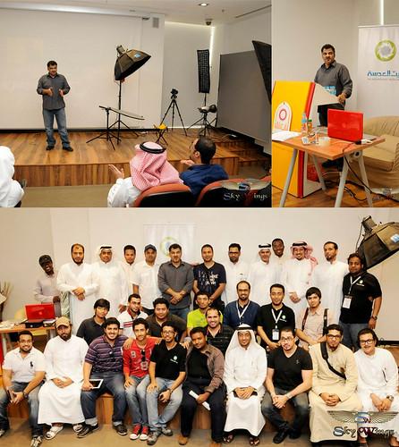 شكرا بيت العدسة ، شكرا استاذ علي هو من وثق الورشة بالصور بكل اقتدار جزاه الله خير ان شاء الله by Saeed al alawi
