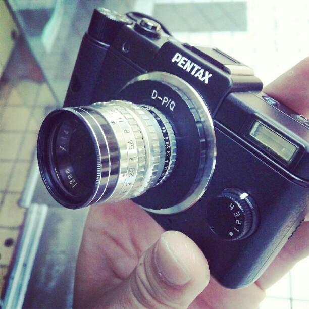 Pentax Q + Arco 13mm F1.4