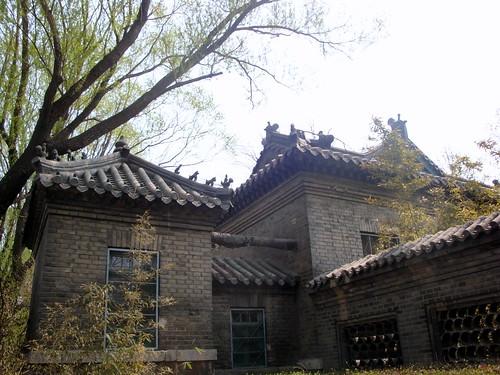 山东省图书馆-旧馆-大明湖