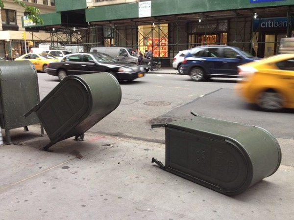 mailbox accident art