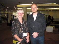 Roberta and Jeffrey Eugenides