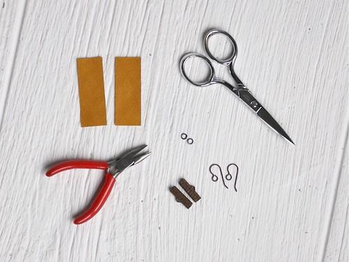 DIY Fringe Earrings1