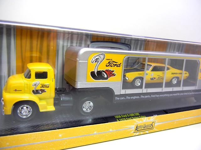 m2 machines auto haulers 1956 ford c-500 coe 1970 ford torino cobra  (2)
