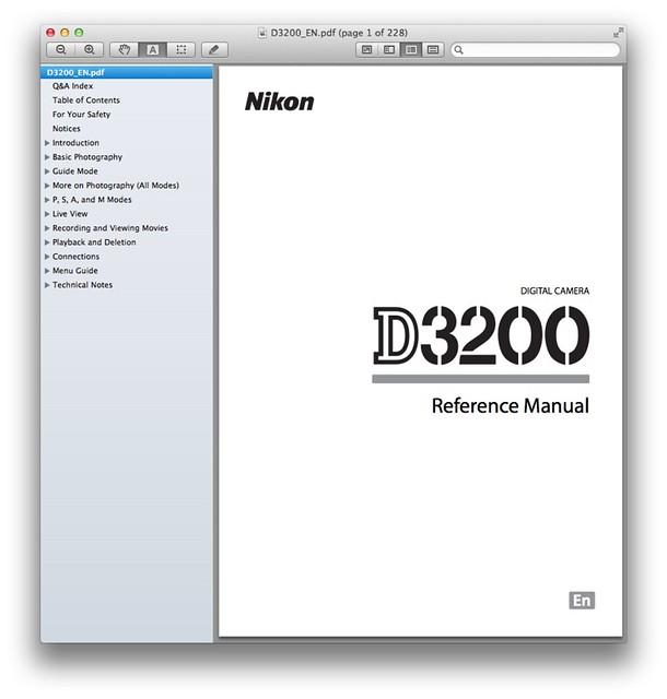Nikon D3200 Manual   Visit Nikon D3200 Manual – PDF Download…   Flickr - Photo Sharing!
