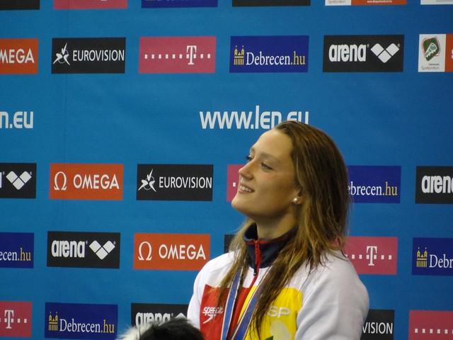 Mireia Belmonte García at Debrecen 2012