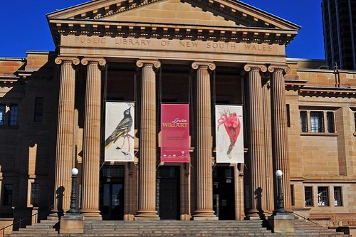 State Library sydney photo
