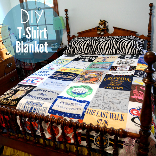 Old Shirts Repurpose Blanket
