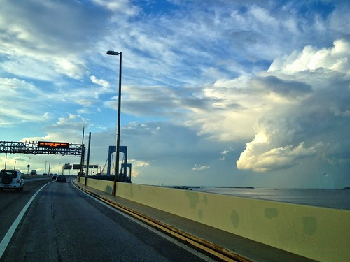 Clouds Over the Throgs Neck Bridge by damn_que_mala