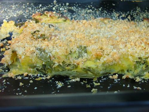 Tortino di patate e fagiolini - Potato & green bean (french beans) cake