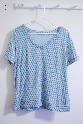Renfrew Top in Blue
