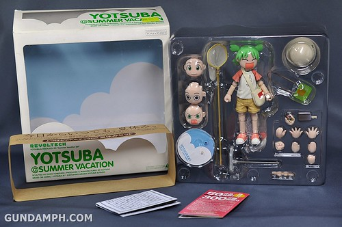 Revoltech Yotsuba DX Summer Vacation Set Unboxing Review Pictures GundamPH (11)