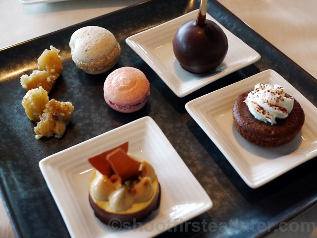 what I ate at Spoon- my dessert plate