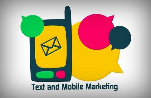 diseño de logotipo for Text & Mobile Marketing © Imobagg Creative Studio