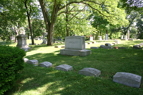 McCann Family Plot, Woodland Cemetery