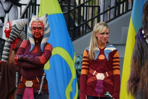 Ahsoka Tano, Ashley Eckstein