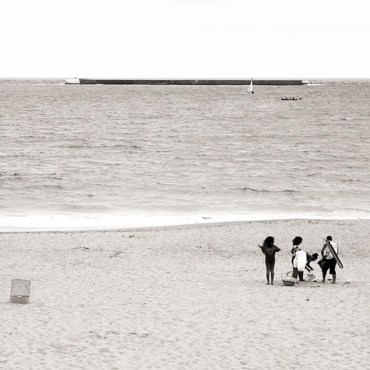 En la playa de San Juan de Luz (3102)