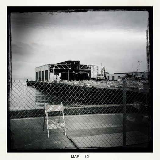 Deconstruction at Pier 36