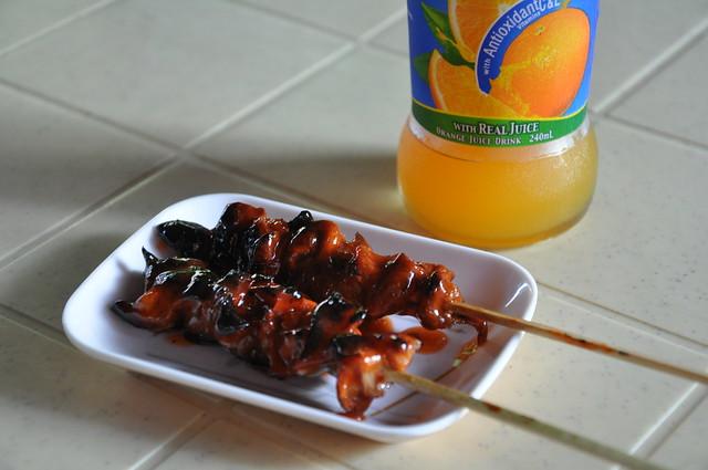 Barbecued Pork Intestines aka Isaw