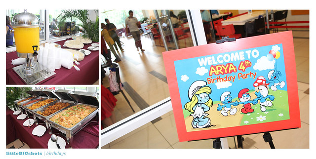 Smurfette Arya is 4! | Birthday Party Photographer Malaysia