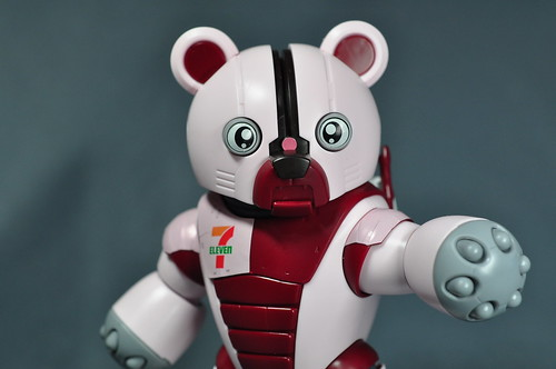 HG 144 7-Eleven BearGuy Gundam OOTB Unboxing Review (48)