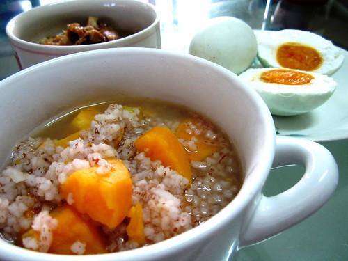 STP's sweet potato porridge 1
