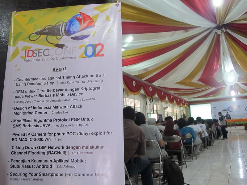 Judul-judul Paper di IDSECCONF 2012