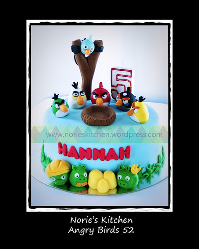 Norie's Kitchen - Angry Birds Cake 52 by Norie's Kitchen