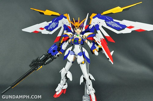 Armor Girls Project MS Girl Wing Gundam (EW Version) Review Unboxing (90)