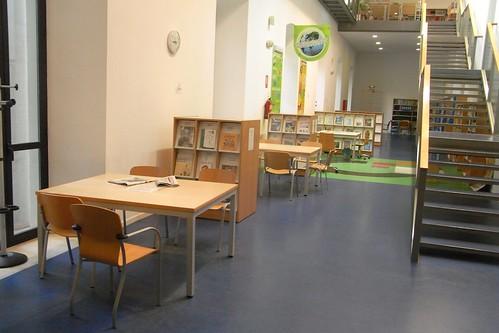 Sala de Lectura Biblioteca Central Córdoba.