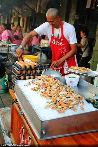 Mussel Omelette, Bangkok by Xin Li 88