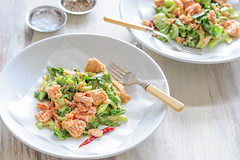bok choy & mustard salad-2