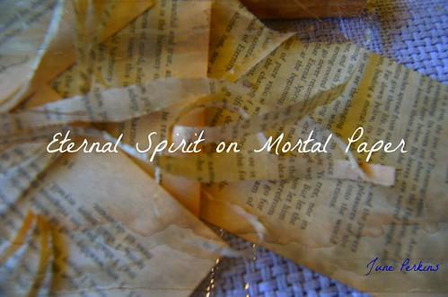 eternal spiritmortalpaper