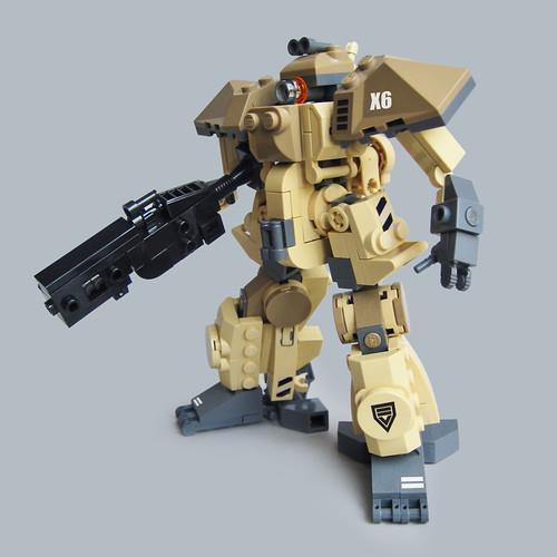 Nakao X6 - Heavy Gunner