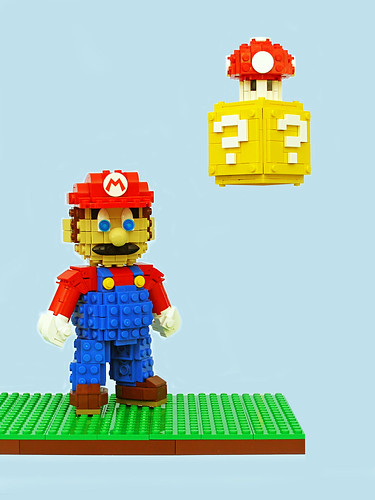 Super Mario Sculpture