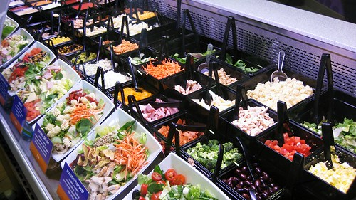 saladworks salad bar