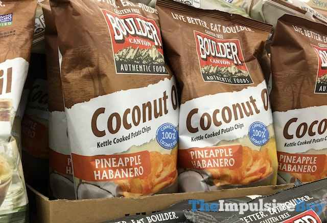 Boulder Canyon Coconut Oil Pineapple Habanero Kettle Cooked Potato Chips