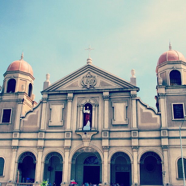 Finally, church no. 7: the Archdiocesan Shrine of Jesus