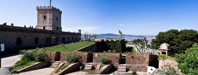 Castell de Montjuïc - Panorama