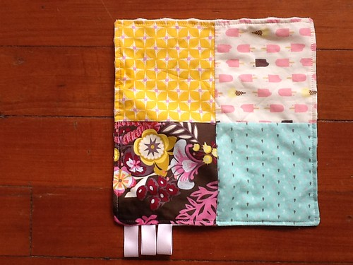 Patchwork taggie