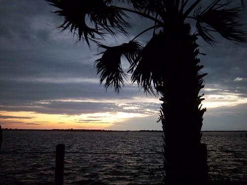 sunset over the Jekyll Island marsh